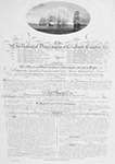 Citation Presented to Sir Nathaniel Dance, Captain of the Lord Camden