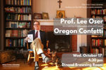 """Authors on the Hill"" Presents: Professor Lee Oser by Lee Oser"
