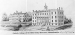 Concept Drawing of Fenwick Hall, 1844 by College of the Holy Cross