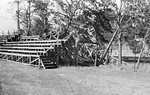 Fitton Field Bleachers Following 1938 Hurricane by College of the Holy Cross