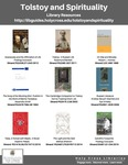Tolstoy and Spirituality (Library Resources)