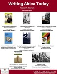 Writing Africa Today: Research Materials (Library Resources)