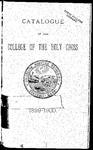 1899-1900 Catalog