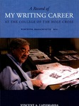 A Record of My Writing Career at the College of the Holy Cross