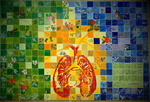 Lungs of the Planet: Complete Mural by Virginia Raguin