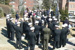 Rev. Philip Burroughs Addressing Attendees of 50th Anniversary Remembrance: Crowd Shot by Barbara Merolli