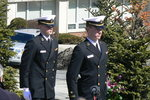 NROTC Honor Guard by Barbara Merolli