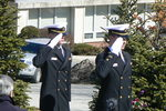 NROTC Honor Guard Salute by Barbara Merolli