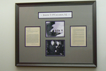 Framed Display for O'Callahan Science Library by Barbara Merolli