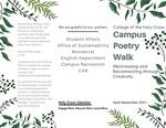 Campus Poetry Walk 2021 Brochure & Map
