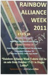 Rainbow Alliance Week 2011 by Abigale/Allies