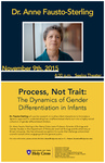 Dr. Anne Fausto-Sterling Lecture