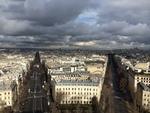 Paris Beneath Storm Clouds